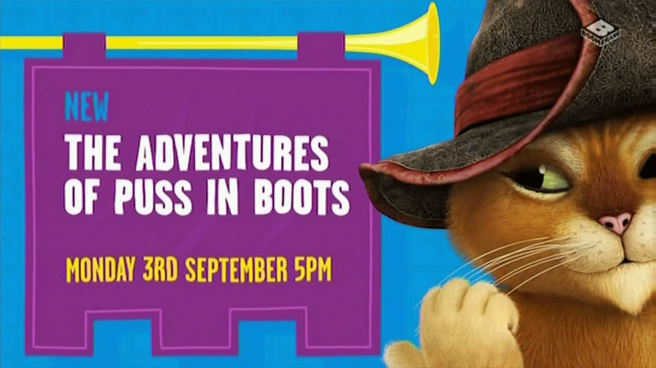 Boomerang UK New Show The Adventures Of Puss In Boots Premieres Tomorrow 3rd September