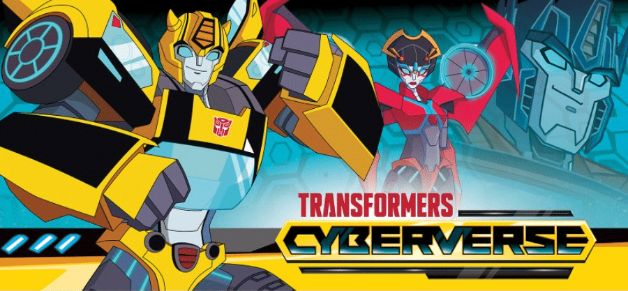 Cartoon Network USA Transformers: Cyberverse