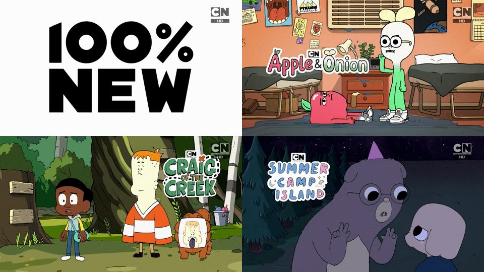 Cartoon Network UK 100% New Shows Summer Camp Island And Craig Of The Creek Coming This Autumn