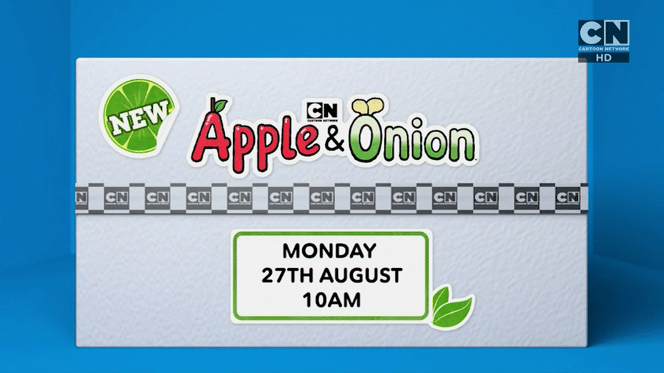 Cartoon Network UK Apple And Onion New Show Promo Now Airing