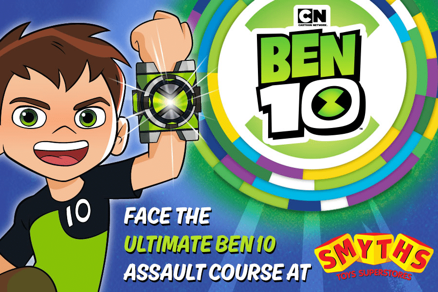Ben 10 Alien Party Smyths Toys Superstores UK Tour Starts Thursday 9th August 2018
