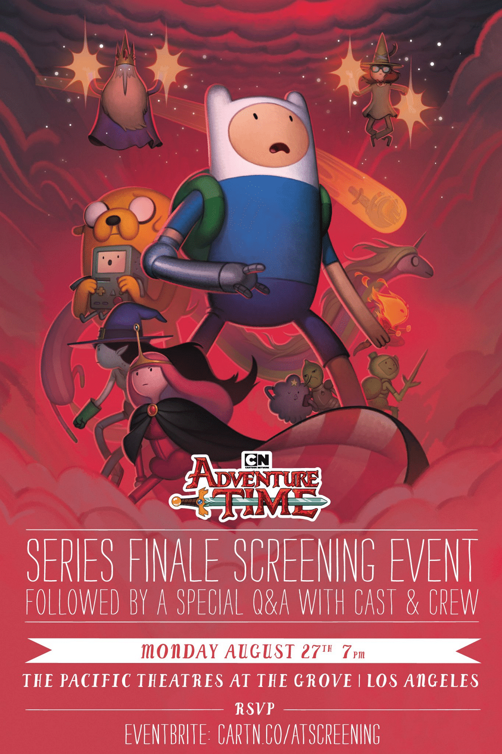 Adventure Time Series Finale Screening In Los Angeles On 27th August