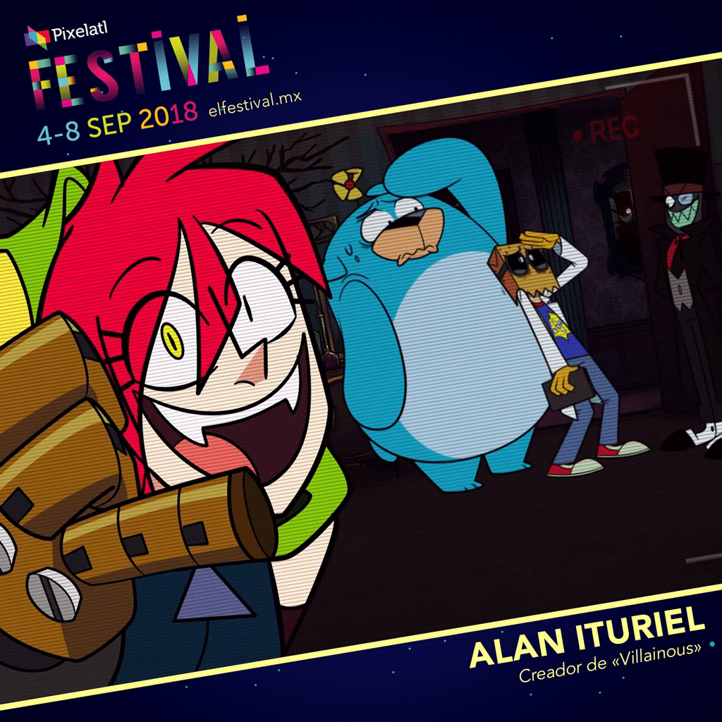 More Info About Cartoon Network Events And Guests At Pixelatl Festival 2018: Villainous Panel And Pilot, Steven Universe Keynote, Viking Tales Talk