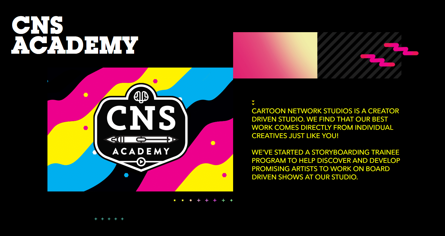 Cartoon Network Studios Launches CNS Storyboard Academy
