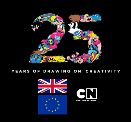 Cartoon Network UK 25th Anniversary