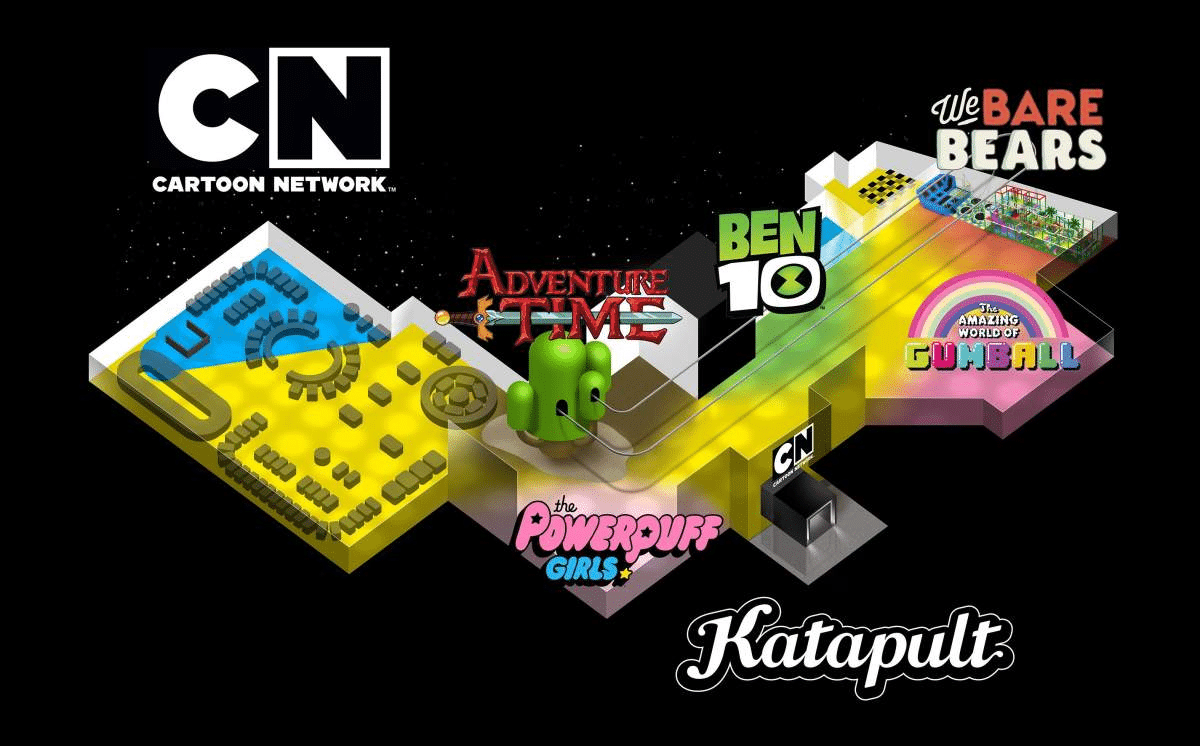 Cartoon Network, Katapult And Future Kid Team Up For New Cartoon Network Attraction In Kuwait
