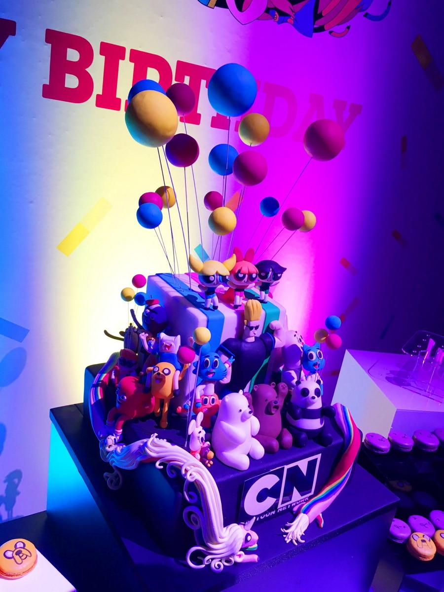 Cartoon Network UK 25th Anniversary Party In London Last Night 13th September 2018