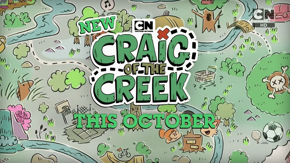 Cartoon Network UK Craig Of The Creek New Show Promos Now Airing