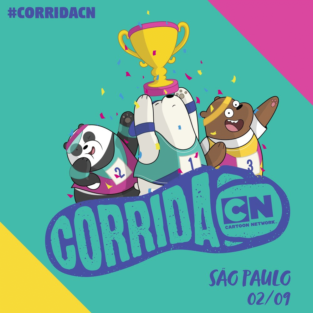 Corrida Cartoon Network Running Event In São Paulo, Brazil Tomorrow 2nd September