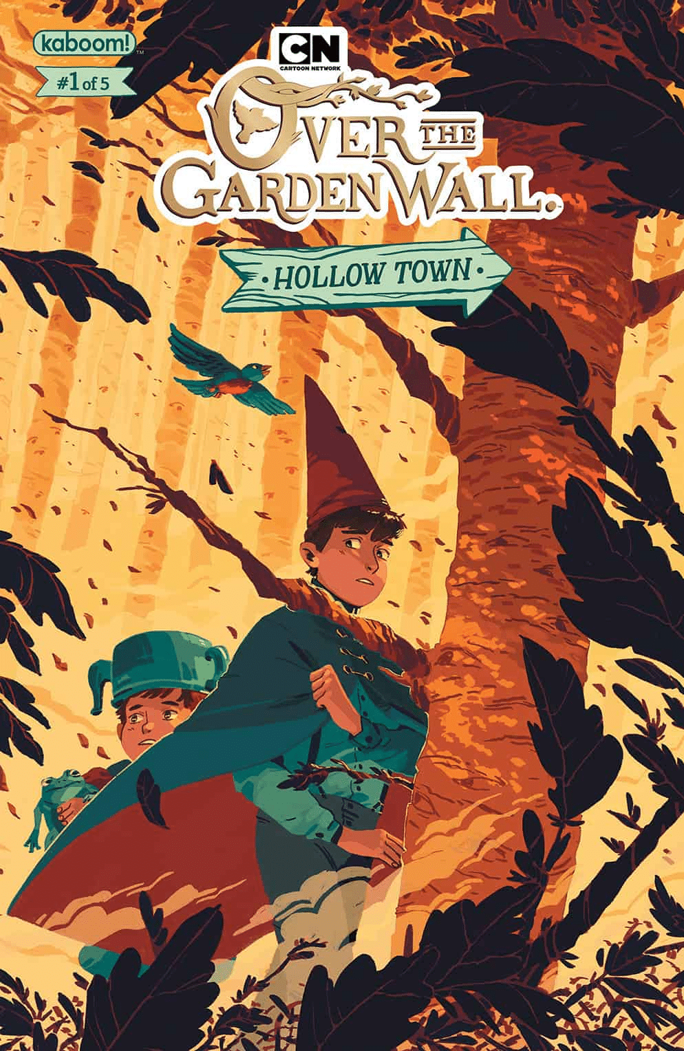 Over The Garden Wall Hollow Town Comic Issue One Out Now At Comic Stores Across The United States