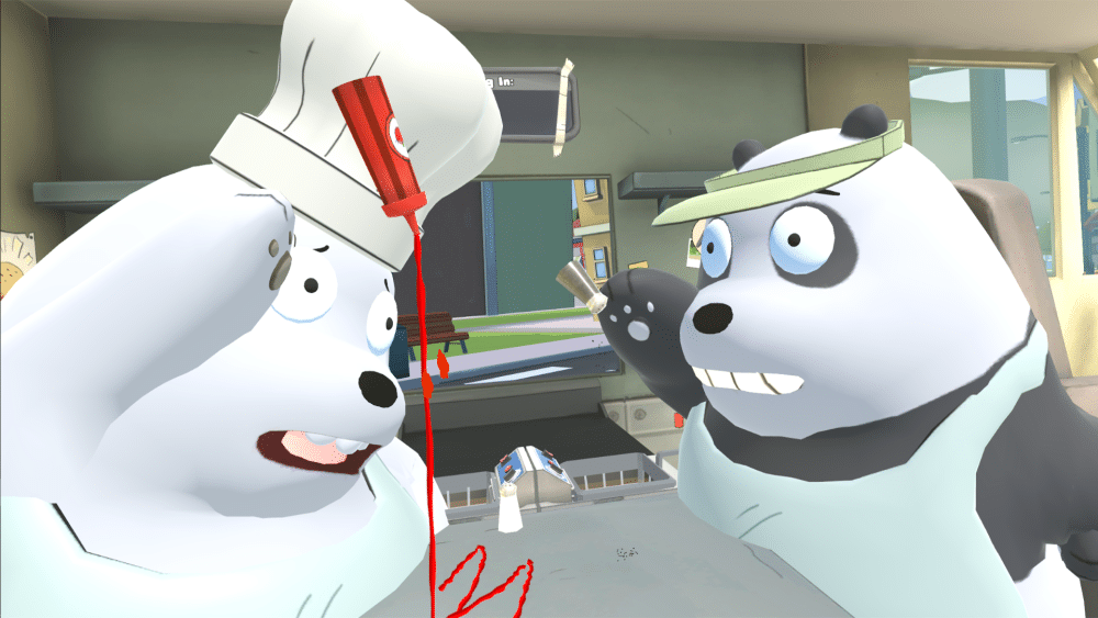 Cartoon Network Launches Its First Location Based VR Game: We Bare Bears: Food Truck Rush