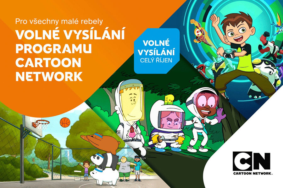 Cartoon Network Free Preview In Czech Republic And Slovakia During October 2018