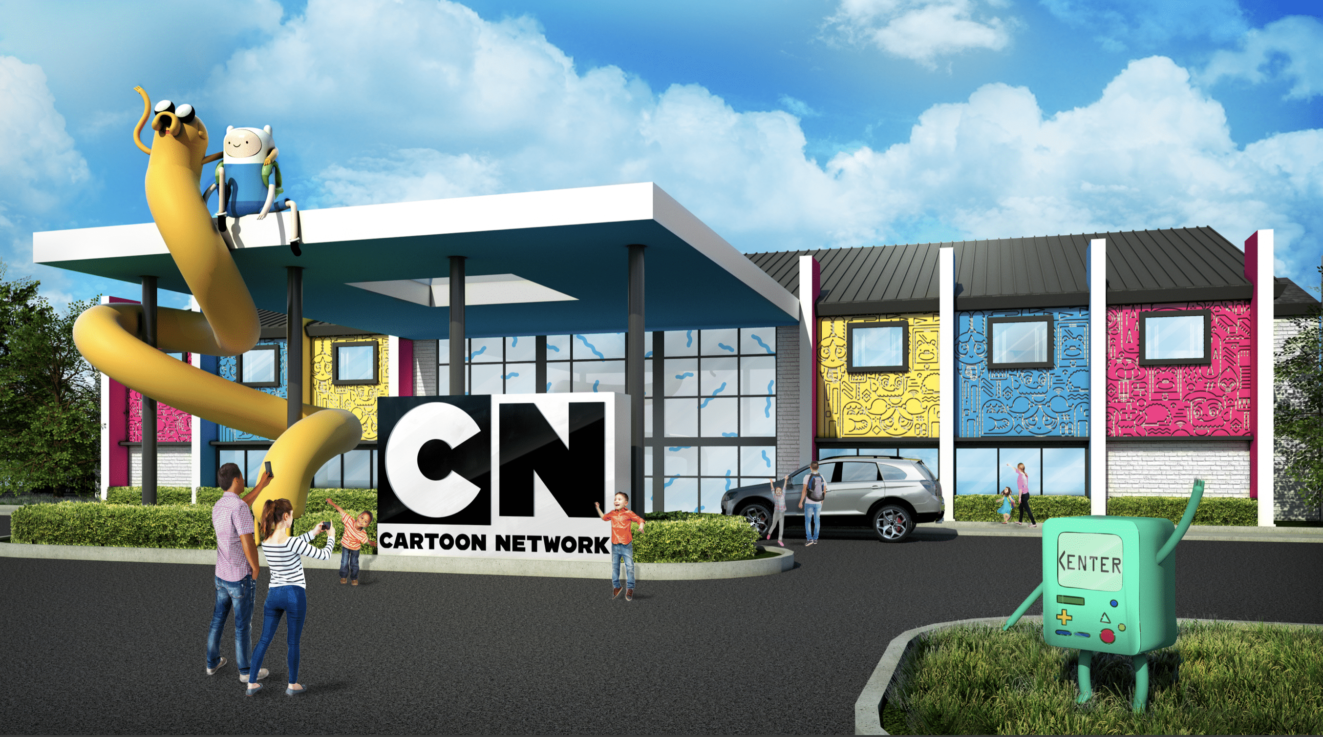 First Ever Cartoon Network Hotel To Open In Pennsylvania In Summer 2019
