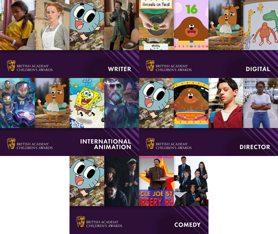 Cartoon Network UK Children's BAFTAs 2018
