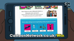 Cartoon Network UK Craig Of The Creek Watch And Win Competition