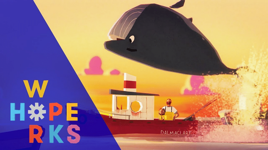 Cartoon Network UK's A Whale's Tale Animated Short For The Hope Works Project Released Today 20th November
