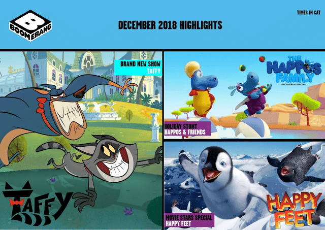 Cartoon Network Africa And Boomerang Africa December 2018 Highlights
