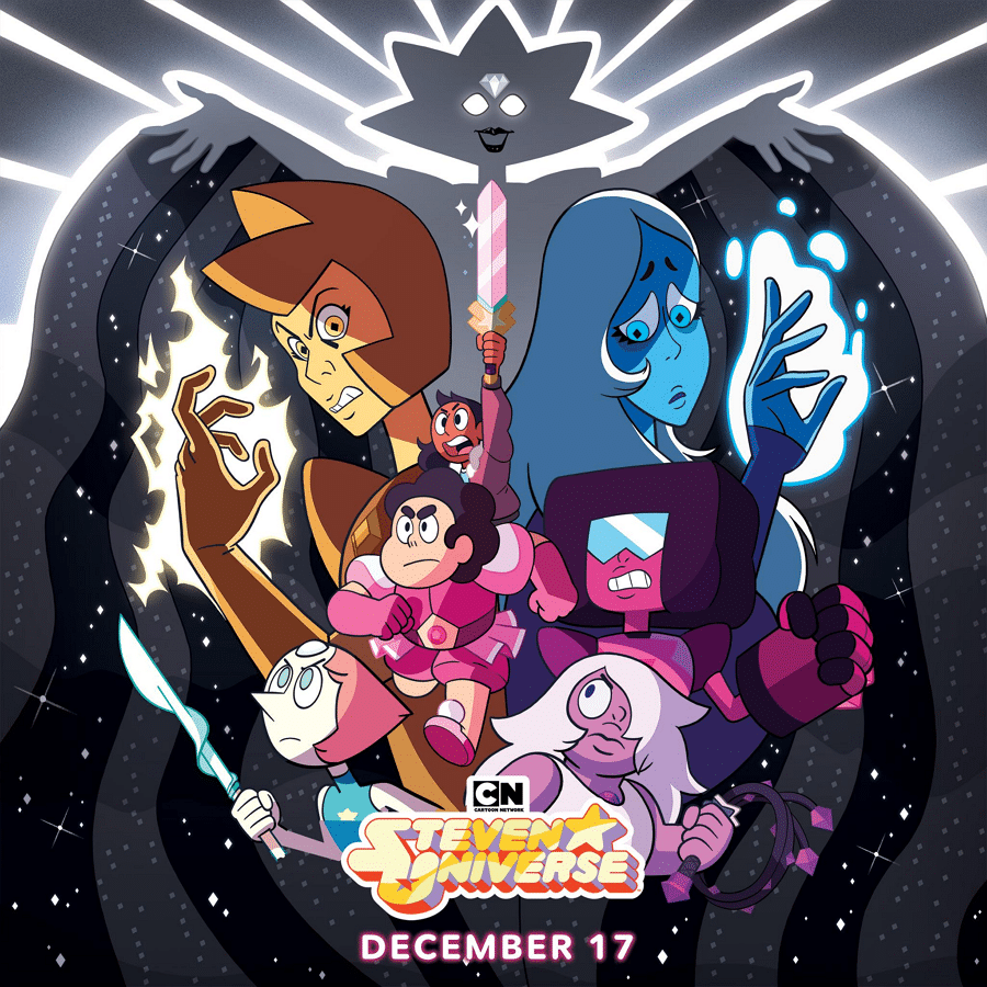 Steven Universe Returns To Cartoon Network USA With A New Story Arc: Diamond Days From Monday 17th December