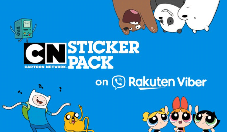 Cartoon Network Stickers Now On The Rakuten Viber Chat App
