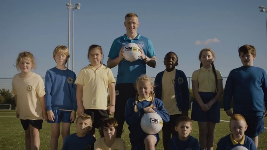 Cartoon Network UK Teams Up With England Footballer Jordan Pickford For 2018's Cartoon Network Buddy Network Anti-Bullying Initiative