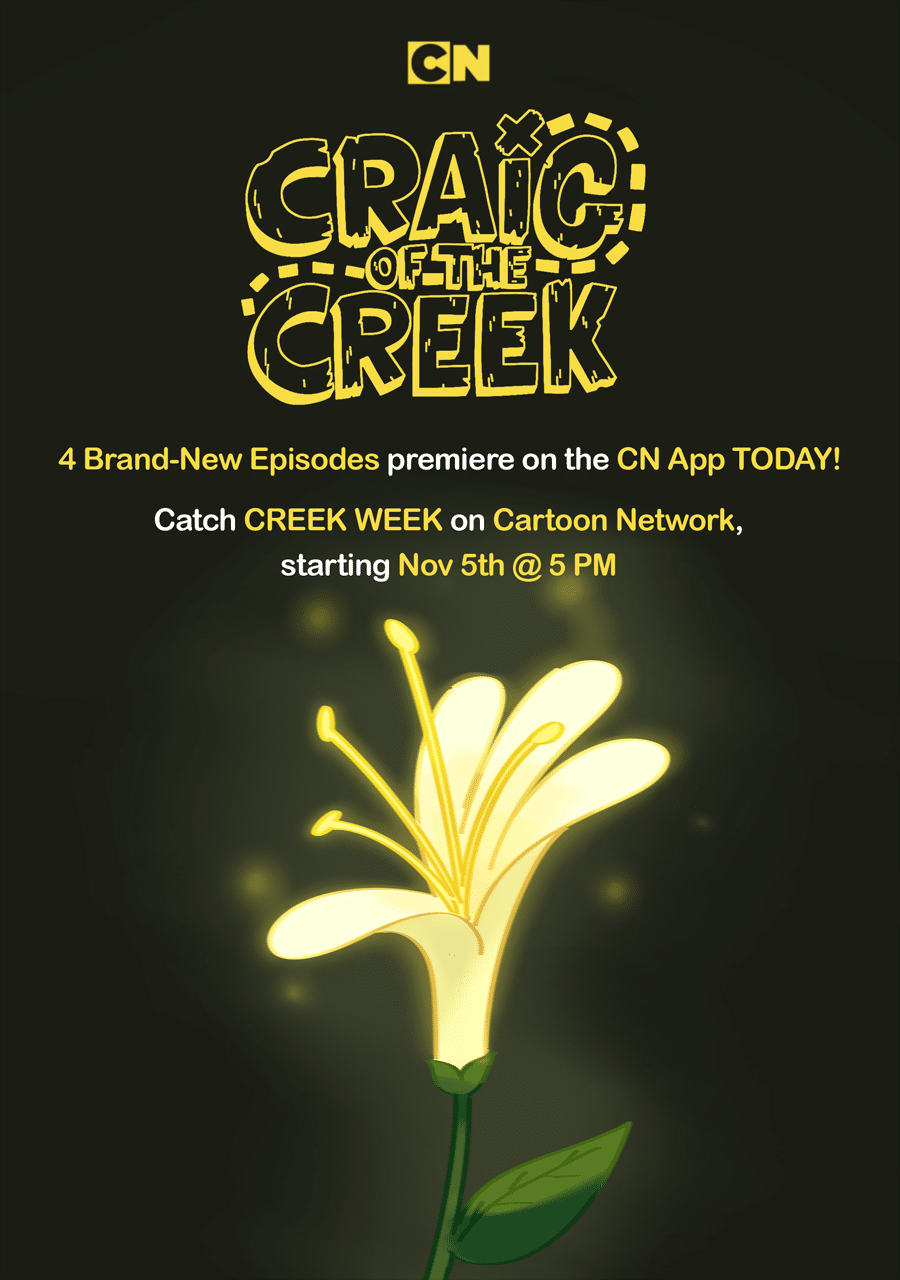 Cartoon Network USA New Episodes Of Craig Of The Creek Now On The Cartoon Network App Before Creek Week