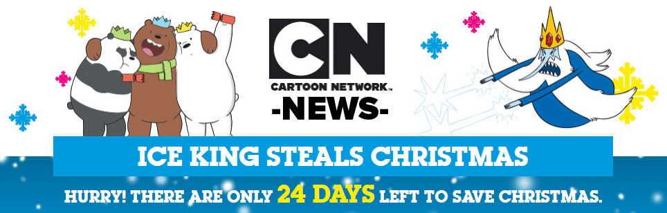 Cartoon Network UK Save Christmas 2018 Competition