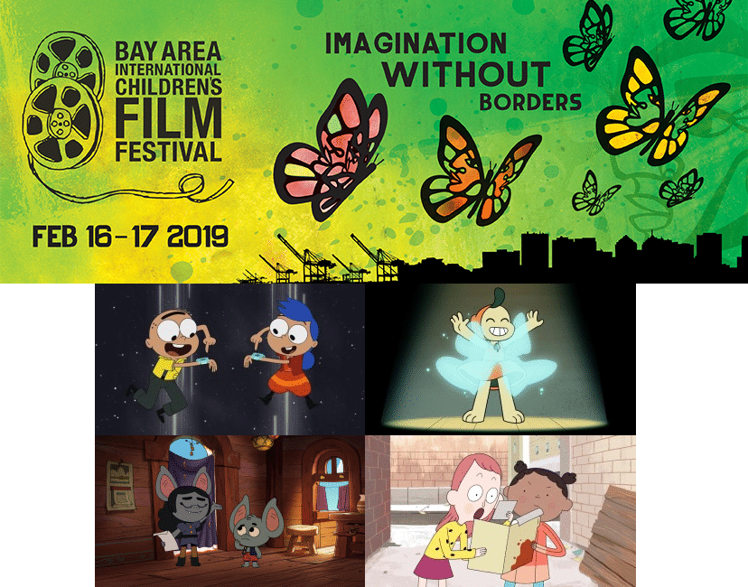 Cartoon Network At Bay Area International Children's Film Festival 2019 16th February New Pilots Wingits And Mushroom