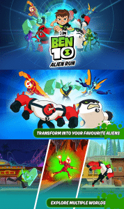 Ben 10 Alien Run Game