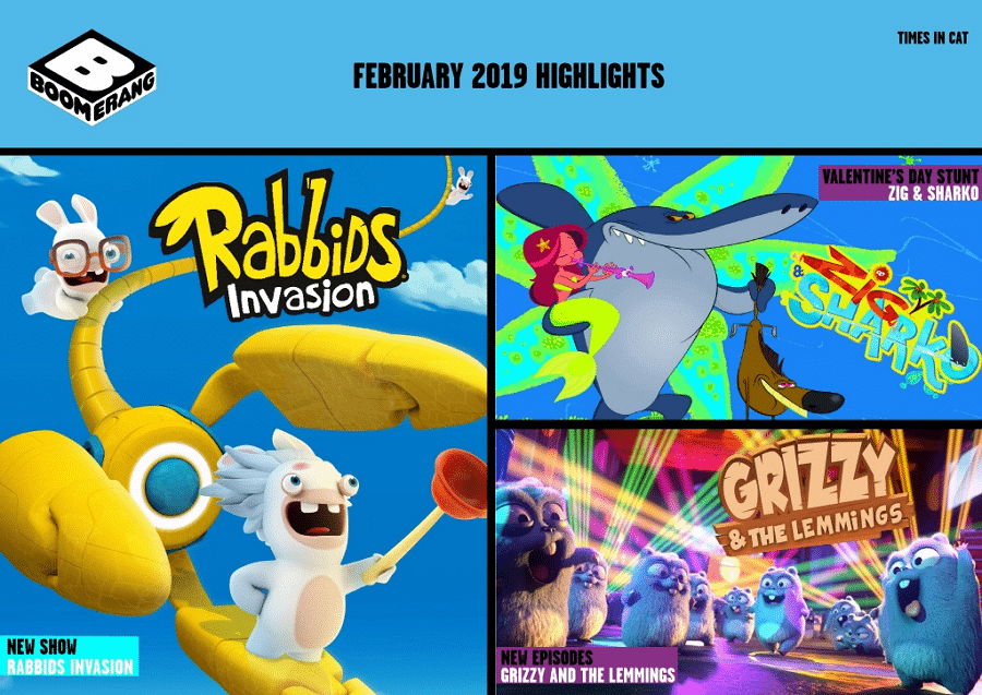 Cartoon Network Africa And Boomerang Africa February 2019 Highlights