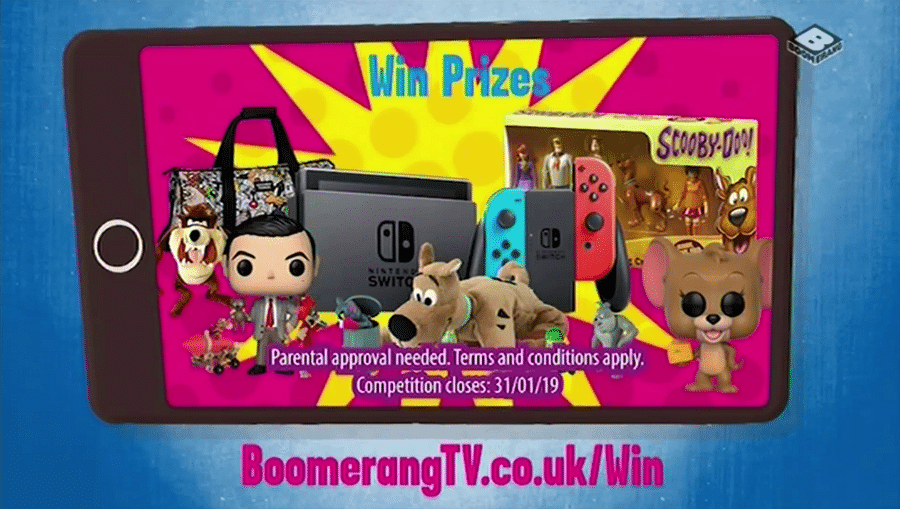Boomerang UK Taffy Watch And Win January 2019 Competition
