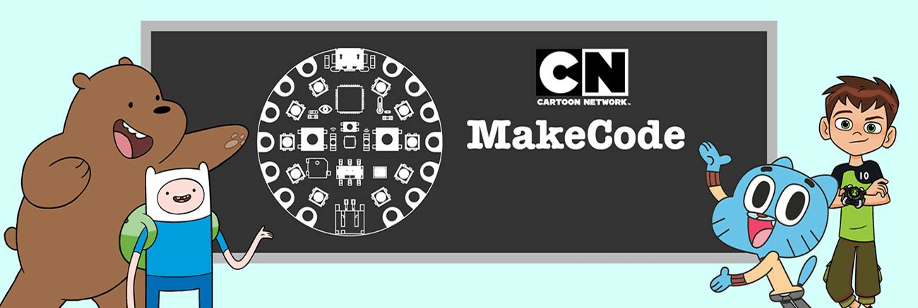 Cartoon Network USA Teams Up With Adafruit And Microsoft's MakeCode For Educational Cartoon Character Themed Electronic Projects