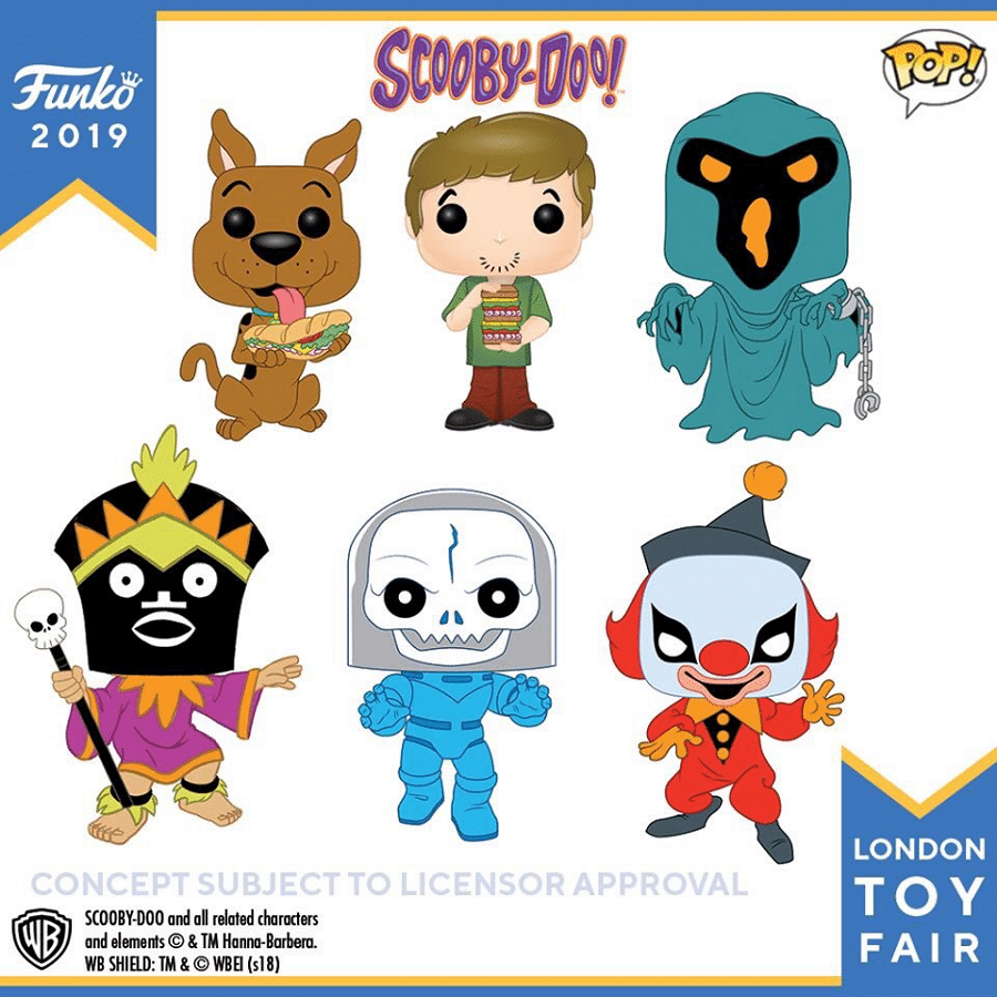 Scooby-Doo! Funko POP Vinyl Figures Announced At London Toy Fair 2019