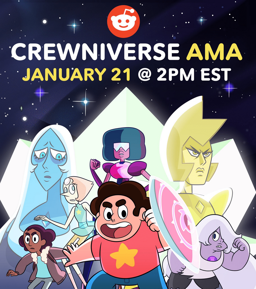 Cartoon Network USA Steven Universe Crewniverse AMA On Reddit Before The One-Hour Season Five Finale: Battle Of Heart And Mind