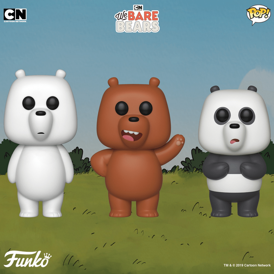 We Bare Bears Funko POP Vinyl Figures To Be Released In February