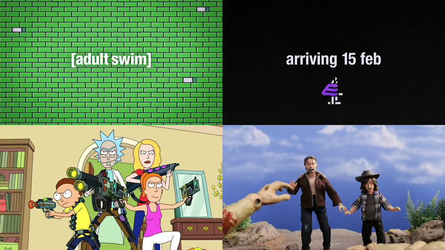 Adult Swim UK Arrives On E4 And All 4 On 15th February