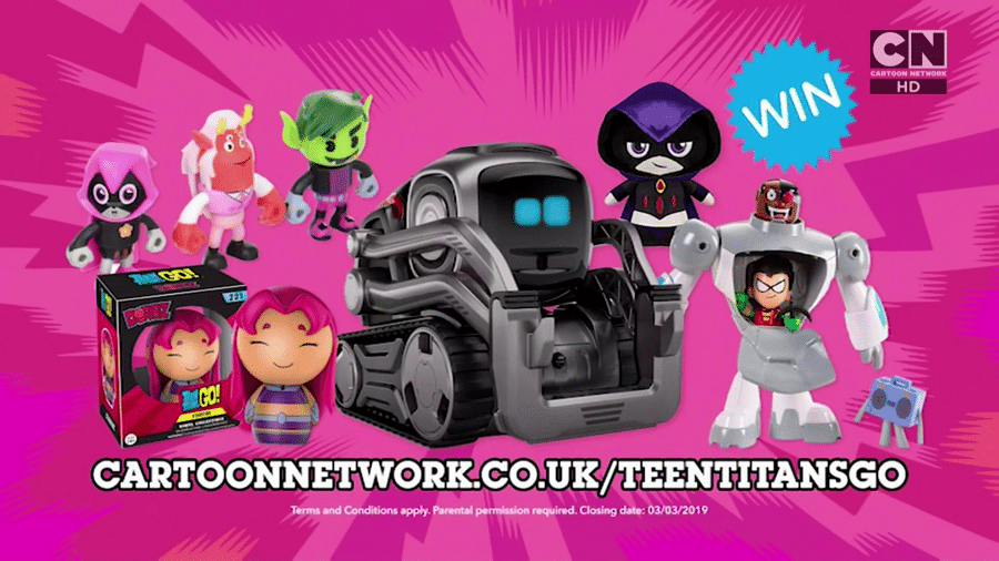 Cartoon Network UK Teen Titans Go! Watch And Win February 2019 Competition