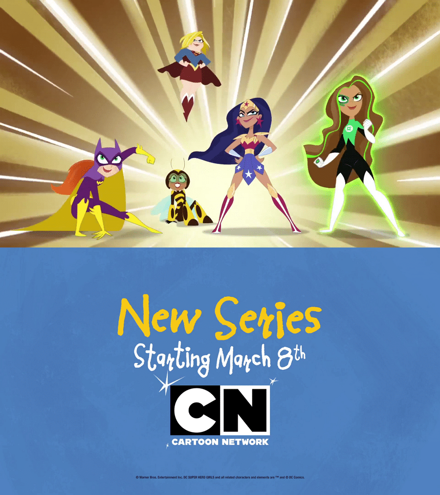 Cartoon Network USA DC Super Hero Girls Animated Series Premieres 8th March With An One-Hour Special
