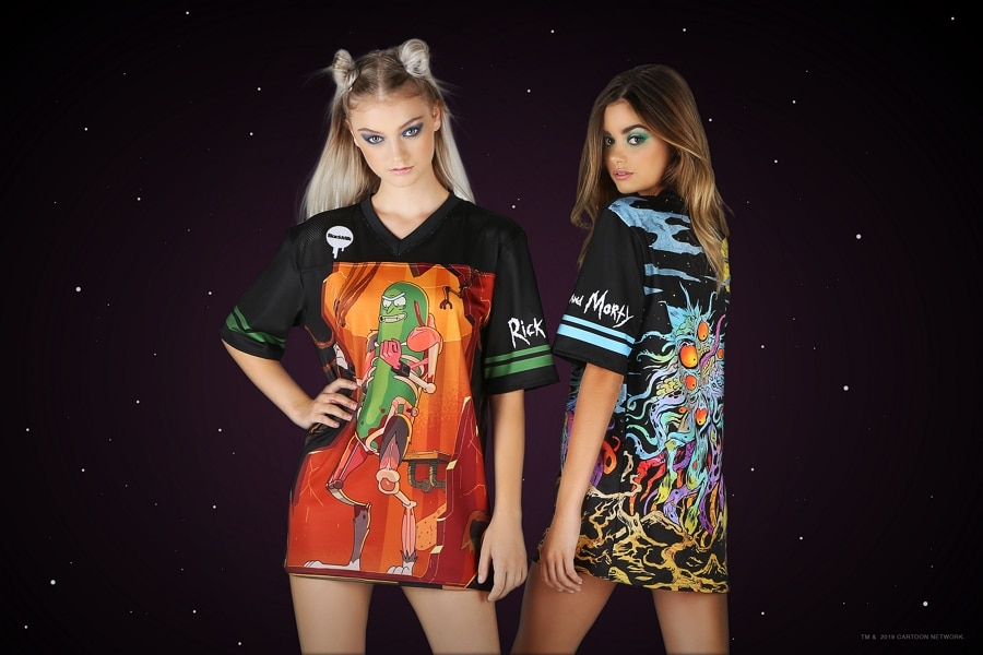 Cartoon Network Enterprises Partners With BlackMilk Clothing For Rick And Morty Fashion Range