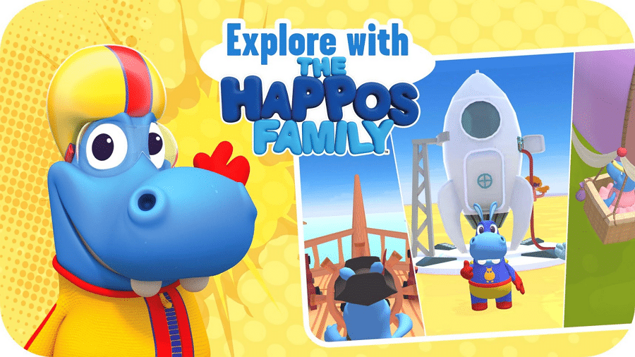 Turner's Boomerang Launches The Happos Family Playtime App