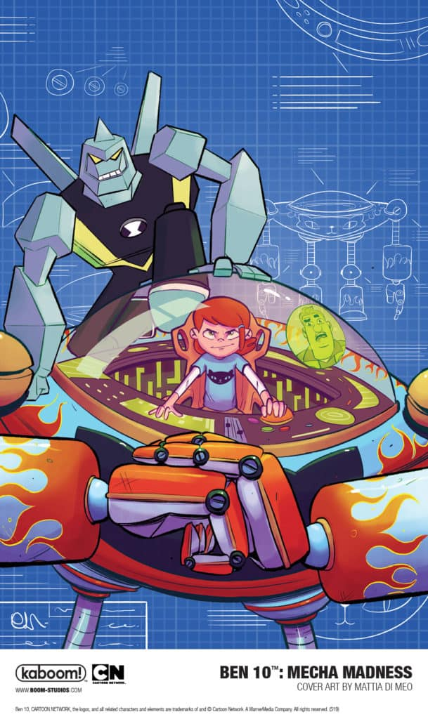 New Ben 10 Graphic Novel Mecha Madness To Be Released November 2019
