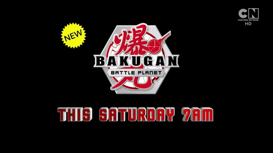 Cartoon Network UK New Show Bakugan: Battle Planet Premieres Tomorrow 23rd March