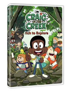 Craig Of The Creek Itch To Explore DVD