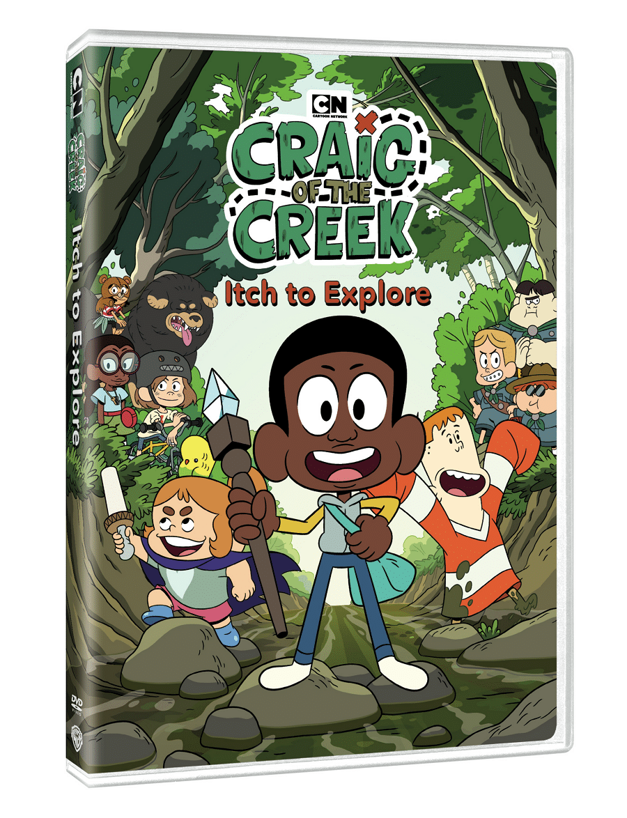 Craig Of The Creek Itch To Explore DVD To Be Released In The United States 19th March