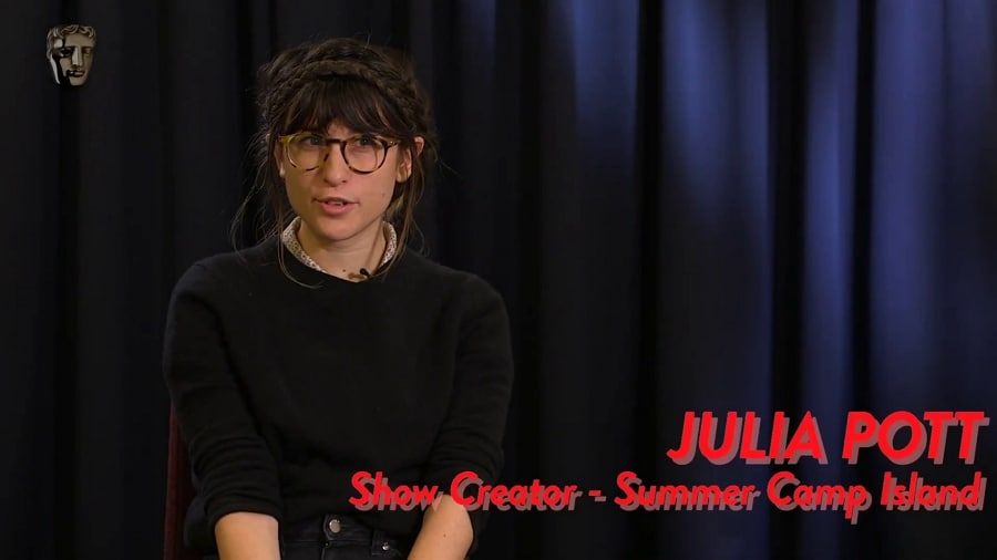 BAFTA Kids Discussion With The Creator Of Cartoon Network's Summer Camp Island Julia Pott