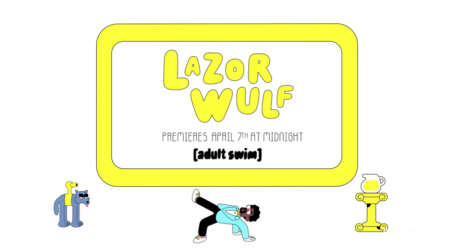 Adult Swim USA New Show Lazor Wulf Premieres 7th April