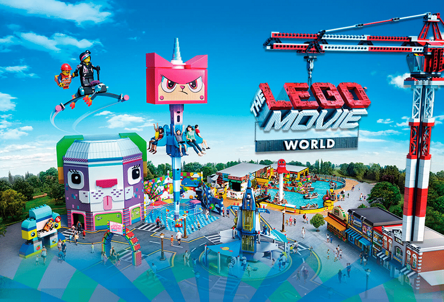 Lego Movie World Opens At Legoland Florida, Includes Unikitty Themed Ride
