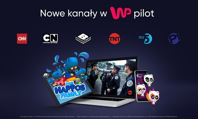 Cartoon Network Poland And Boomerang Central Eastern Europe Now Available On WP Pilot