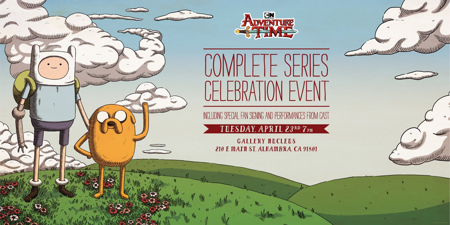 Cartoon Network USA Adventure Time: The Complete Series DVD Boxset And Soundtrack Boxset Special Event In Los Angeles On 23rd April