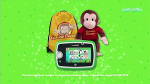 Cartoonito UK Curious George April 2019 Watch And Win Competition